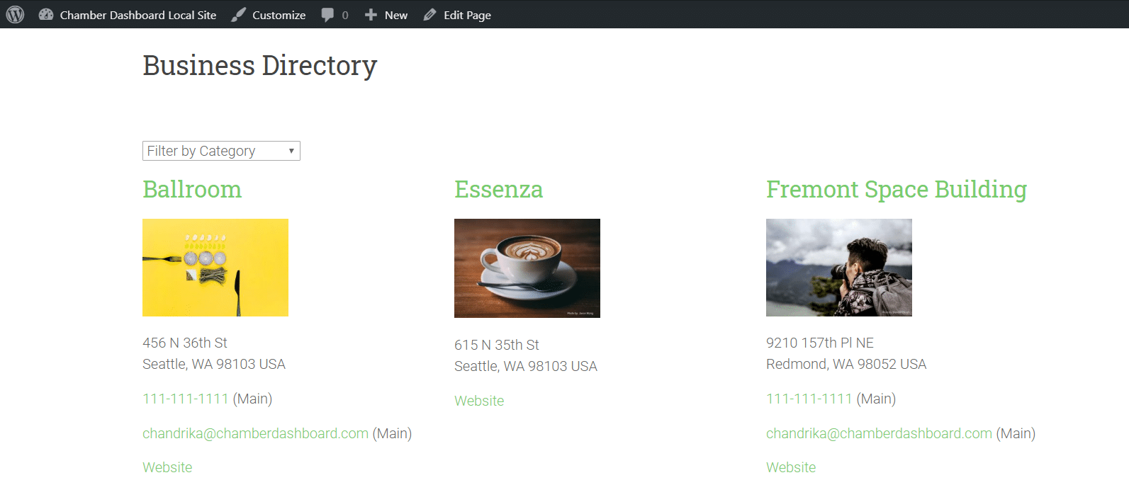 Category Filter Dropdown for Custom Post Types